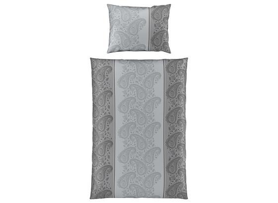 Bettwäsche Nada - Grau, MODERN, Textil - Luca Bessoni
