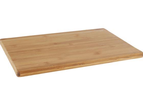 Doska Na Krájanie Bamboo - prírodné farby, drevo (40/30/1,7cm) - Zandiara