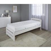 Taschenfederkernmatratze Toppio H2/H3 - Weiß, Textil (90/200cm) - Primatex