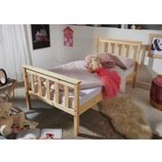 Kinder-/Juniorbett Kiefer Massiv 70x140 cm - Braun/Kieferfarben, Basics, Holz (70/140cm) - Carryhome