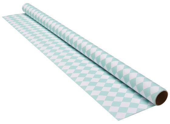 Dárkový Papír Marie - bílá/mátově zelená, papír (70/200cm) - Mömax modern living