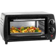 Trisa Mini-Backofen Snack Star 7332.4712 - Schwarz, KONVENTIONELL, Metall (39/34/22cm)