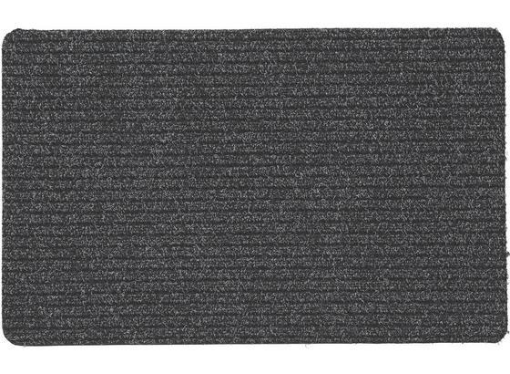 Fußmatte Troika 40x60 cm - Anthrazit, KONVENTIONELL, Textil (40/60cm) - Homezone