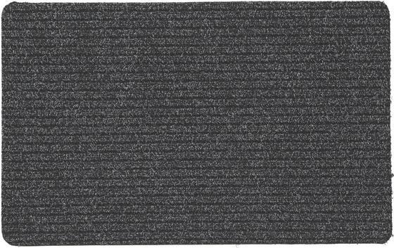 Fußmatte Troika 40x60 cm - Anthrazit, KONVENTIONELL, Textil (40/60cm)