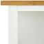 Servírovací Vozík Ilse - farby dubu/biela, Moderný, kov/drevo (65/79/35cm) - Modern Living