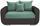 Zweisitzer-Sofa Faro B: 150cm - Chromfarben/Dunkelgrau, MODERN, Holz/Textil (150/90/92cm) - Ombra