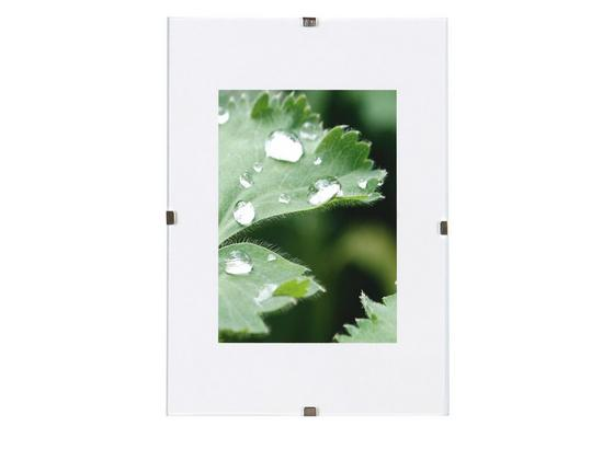 Cliprahmen Levi, 13x18cm - Klar, KONVENTIONELL, Glas (13/18cm) - Homezone