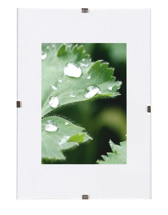 Cliprahmen Levi, 24x30cm - Klar, KONVENTIONELL, Glas (24/30cm) - Homezone