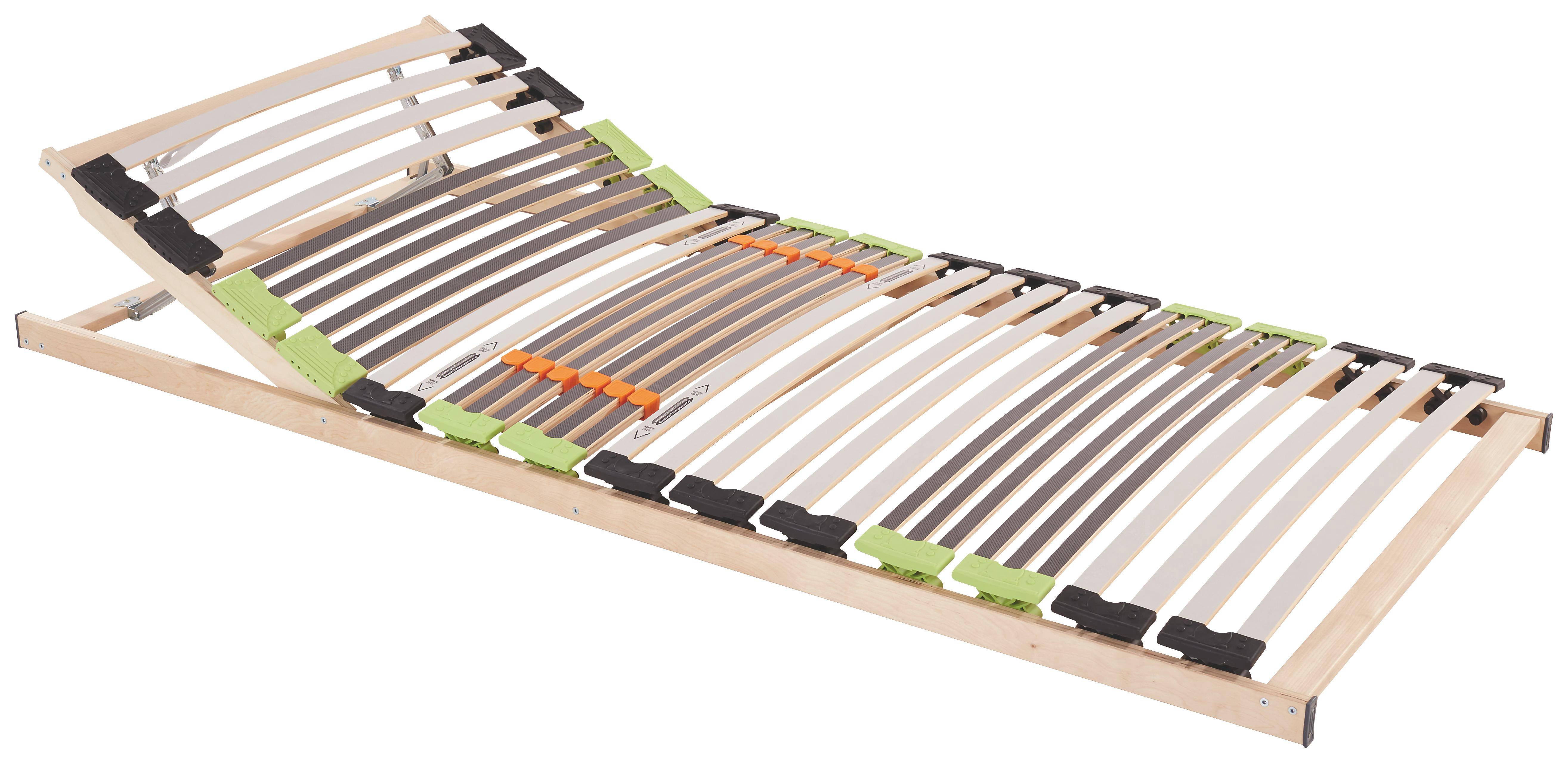 Verstellbarer Lattenrost mit 7 Liegezonen