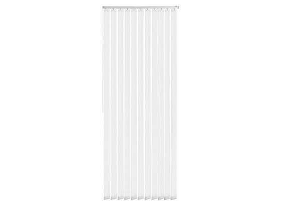 Vertikallamellen Tara - Weiß, MODERN, Textil (150/250cm) - Luca Bessoni