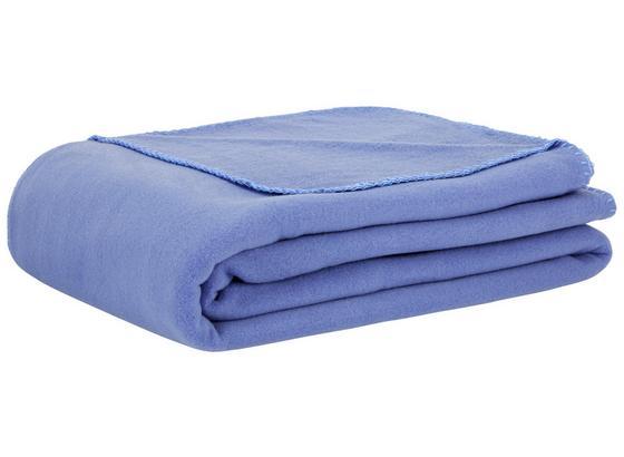 Fleecová Deka Trendix -top- - modrá, textil (130/180cm) - Mömax modern living