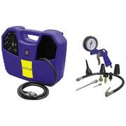 Hobby-Kompressor Set 17001 - Schwarz/Dunkelblau, MODERN, Kunststoff/Metall (45/25/14cm) - ERBA