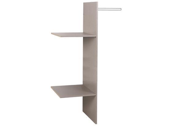 Vnitřní Členění Universal - šedá, Konvenční, dřevo (88/147/48cm)