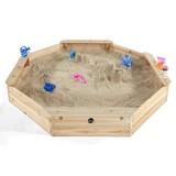 Sandkasten 25058 117x117 cm Fichte - Fichtefarben, Basics, Holz (177/177/23cm)