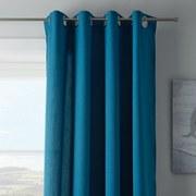 Záves S Krúžkami Ulli - petrolejová, textil (140/245cm) - Mömax modern living