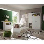 Babyzimmer Paula 3-teilig Weiß - Weiß, MODERN, Holzwerkstoff