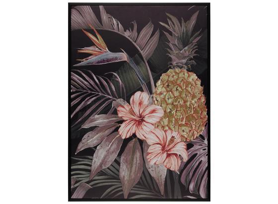 Obraz S Klínovým Rámom Liam - viacfarebná/čierna, kompozitné drevo/textil (50/70cm) - Mömax modern living