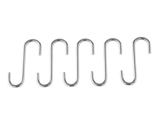 Věšák Noa - barvy nerez oceli, Konvenční, kov (3,8/6,5cm) - Mömax modern living