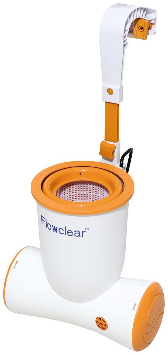 Skimmer 680gal Skimatic Filter Pump - Orange/Weiß, MODERN, Kunststoff (2574l) - Bestway