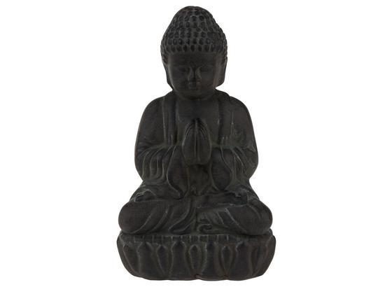 Buddha Shirin - Schwarz, Design, Stein (11/16,5cm)