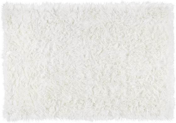 Kůže Ovčí Teddy - bílá, Romantický / Rustikální, textilie (100/150cm) - Mömax modern living