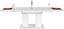 Výsuvný Stůl Malvin 180 Az - bílá, Moderní, kompozitní dřevo (180/76/90cm)