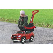 Rutschfahrzeug Mercedes-Amg Gl 63 Rot - Chromfarben/Rot, Basics, Kunststoff (89/36/85cm)