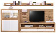 Doporučená Kombinace Kashmir New 5 - bílá/barvy dubu, Moderní, kompozitní dřevo (285/192/49cm) - James Wood
