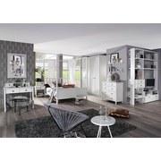 Drehtürenschrank 181cm Marit, Weiß - Weiß, Design, Holzwerkstoff (181/223/60cm) - Livetastic