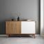 Komoda Jillian - biela/farby jaseňa, Moderný, drevo (140/80/45cm) - Mömax modern living