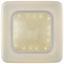 LED-Deckenleuchte Wilhelm - MODERN, Kunststoff/Metall (30/8,5cm) - Luca Bessoni