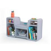 Kindersitzbank Simplay3 2-In-1 - Grau, Basics, Kunststoff (89,4/26,7/49,5cm)