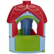 Spielhaus Villa - Blau/Rot, MODERN, Kunststoff (95/102/126cm)