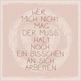 Dekopaneel Weisheit Nr. 1 - Multicolor, MODERN, Holzwerkstoff (29/29cm)