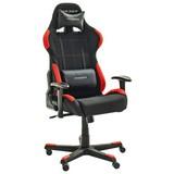 Gamingstuhl DX Racer 1 Schwarz/Rot - Rot/Schwarz, MODERN, Kunststoff/Textil (65/123-132/65cm) - Dxracer