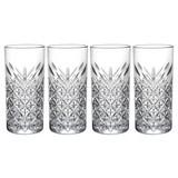 Longdrinkglas Timeless 4-Tlg - Transparent, Basics, Glas (295ml)