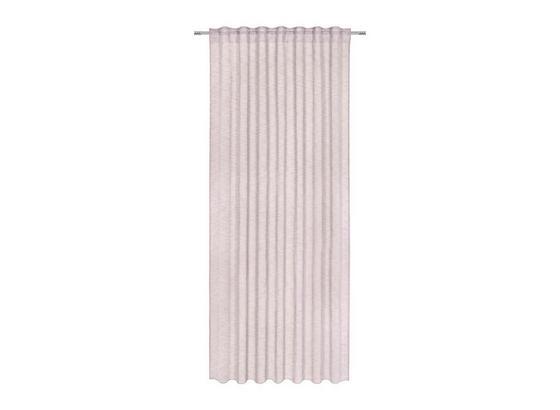 Závěs Sigrid - růžová, Romantický / Rustikální, textil (140/245cm) - Premium Living