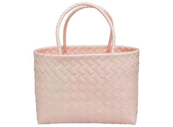 Nákupný Kôš Lina - pink, Romantický / Vidiecky, plast (38/16/29cm) - Mömax modern living