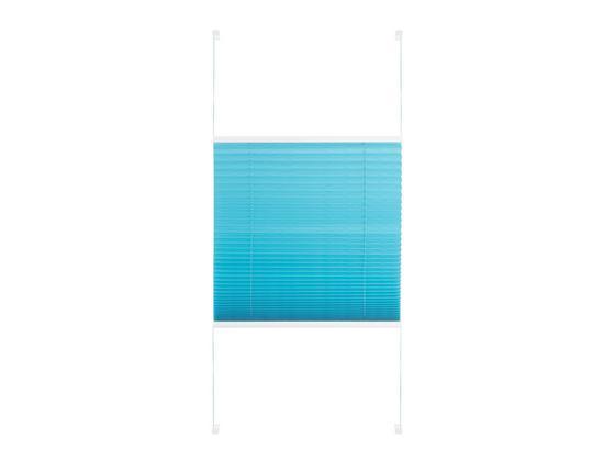 Plisé Free, 60/130cm, Petrolejová - petrolejová, textil (60/130cm) - Premium Living