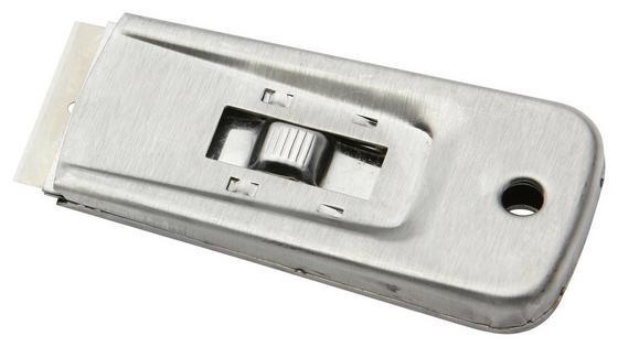 Schaber 50mm - Silberfarben, KONVENTIONELL, Metall (10cm) - Gebol