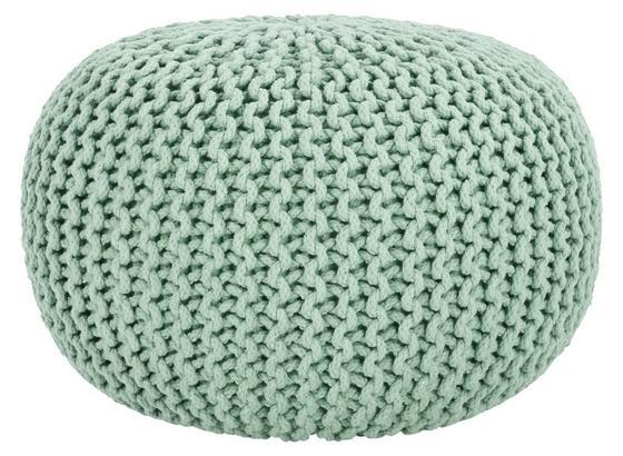 Sedací Vankúš Aline - svetlozelená, textil (50/30cm) - Premium Living