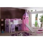 Kinderkissen Rosa/Flieder - Flieder/Rosa, Design, Textil (88/11/30cm) - Livetastic