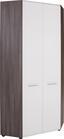 Sarokszekrény Avensis - bronz szín/fehér, modern, fa (87/206/87cm) - LUCA BESSONI