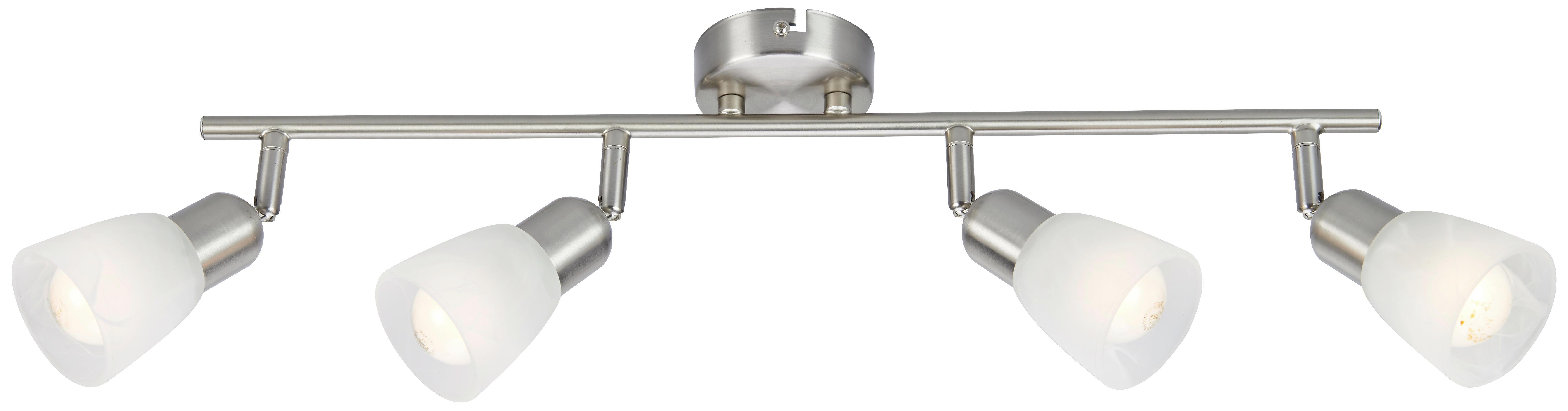 Svítidlo Bodové Ela - barvy niklu, kov/sklo (55/8,5/20cm) - MÖMAX modern living