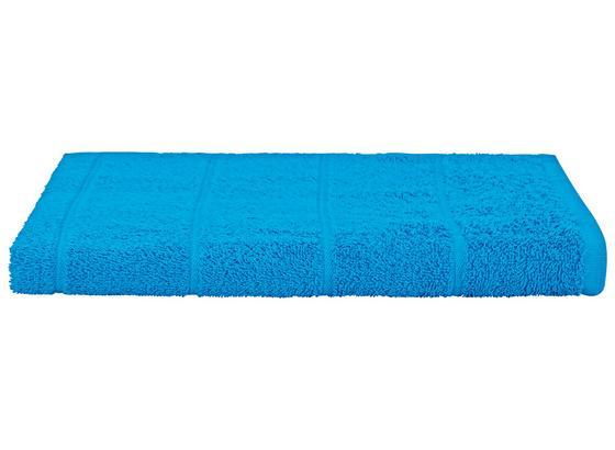 Duschtuch Liliane - Blau, KONVENTIONELL, Textil (70/140cm) - Ombra