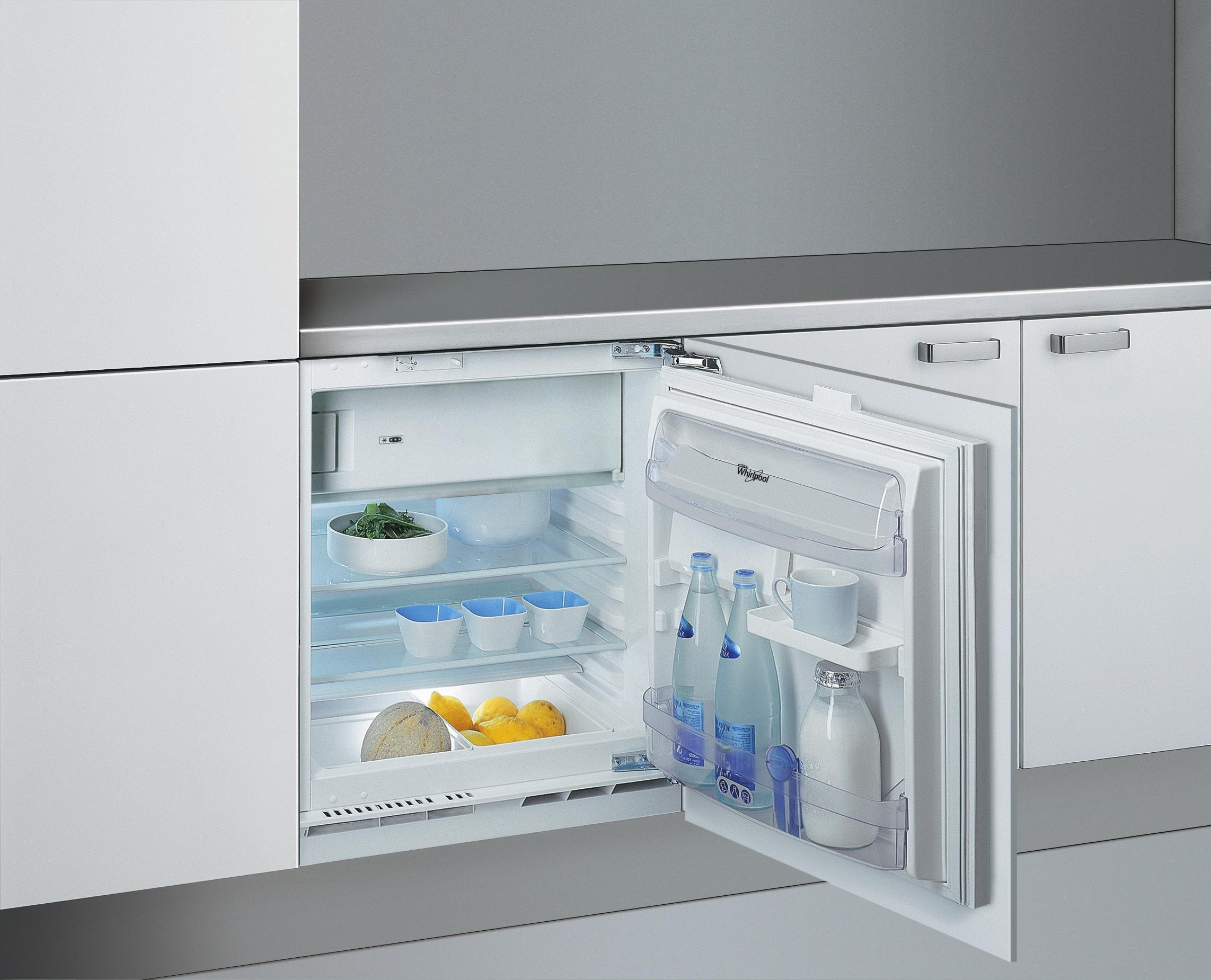 Siemens Unterbau Kühlschrank Mit Gefrierfach : Whirlpool unterbaukühlschrank mit gefrierfach arg a