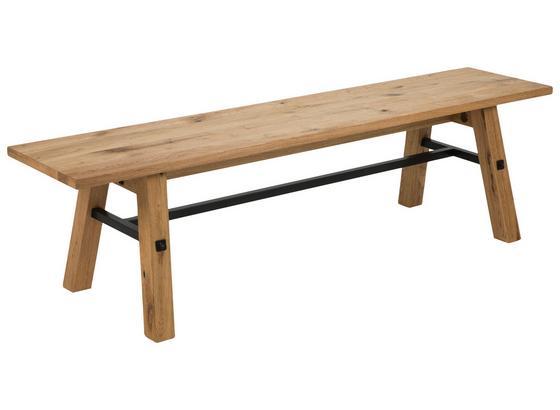 Sitzbank Stockholm B: 170cm Eichefarben - Eichefarben, KONVENTIONELL, Holz (170/46/38cm) - Carryhome