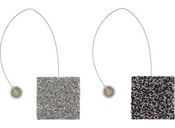 Riasiaca Spona Strass - čierna/strieborná, Štýlový, plast (6cm) - Mömax modern living