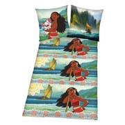 Lizenzbettwäsche Disney´s Vaiana - Multicolor, Textil (37/26/3cm)