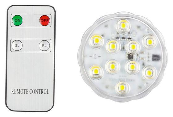 LED-Leuchtmittel Faya - Klar, MODERN, Kunststoff (7cm)